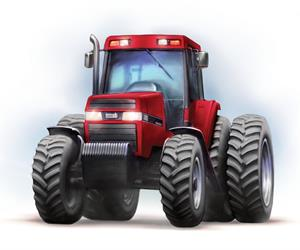 Case IH Launch The Magnum Tractor Which Is First All New Machine To Come From Combined Engineering Of And International Harvester